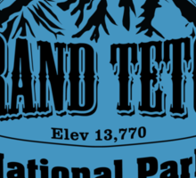 Grand Teton National Park, Wyoming Sticker