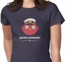 Supreme Commander  Womens Fitted T-Shirt