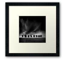 Eight Framed Print