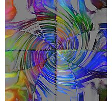 Colorful Quadrants  Photographic Print