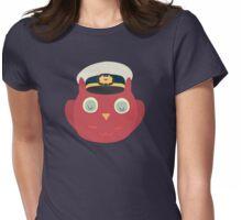 Owl Martin Crieff  Womens Fitted T-Shirt