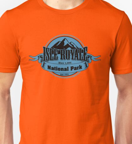 Isle Royale National Park, Michigan Unisex T-Shirt
