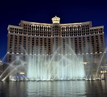 Bellagio Water Fountain by Eleu Tabares