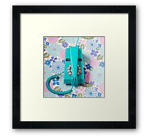 Trim Phone Framed Print