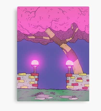 Eight Realms Background #3... Canvas Print