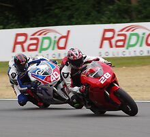 #28 Ben Broadway / #40 Jonathon Railton - Ducati 848 Challenge - BSB Brands Hatch 2013 by motapics