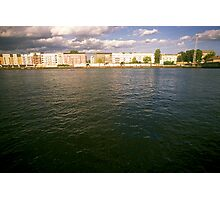 Bank of the river Spree, Berlin 2012 Photographic Print