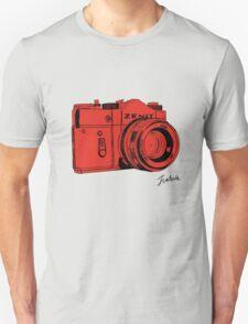 Red Russian Camera T-Shirt