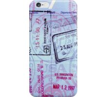Travel Memories iPhone Case/Skin