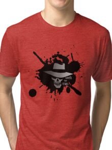 Until The End - Skulduggery Pleasant Tri-blend T-Shirt