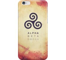 Alpha. Beta. Omega. iPhone Case/Skin