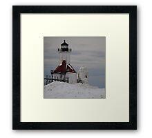 St Joseph North Pier Lighthouse - 30 Framed Print