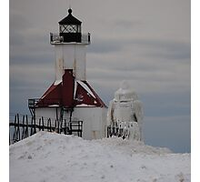 St Joseph North Pier Lighthouse - 30 Photographic Print