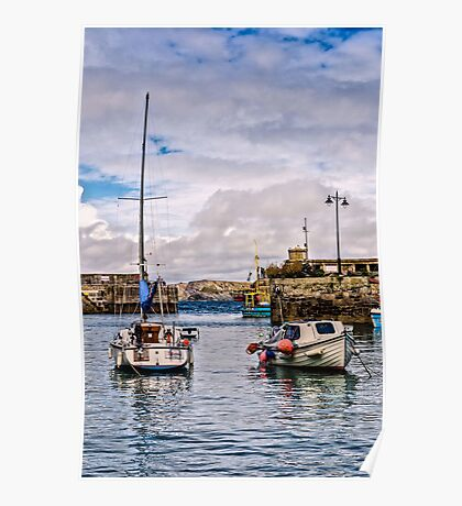 Newquay Harbour Poster