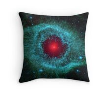 Infrared Helix Nebula Eti Reid Throw Pillow