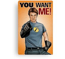 Captain Hammer - You Want Me Canvas Print