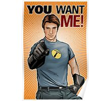 Captain Hammer - You Want Me Poster