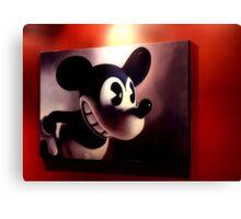 M. Mouse Canvas Print