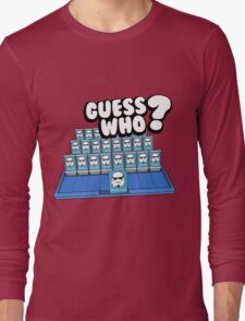 Guess Who Stormtrooper Long Sleeve T-Shirt