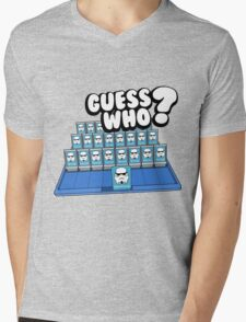 Guess Who Stormtrooper Mens V-Neck T-Shirt
