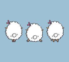 sheeps One Piece - Short Sleeve