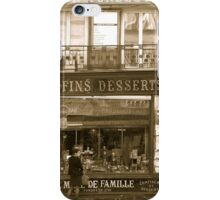 vins fins desserts iPhone Case/Skin