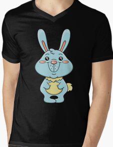 funny bunny Mens V-Neck T-Shirt