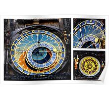 Prague ~ Astronomical Clock Poster