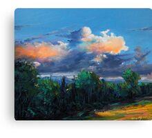 Irish sky II Canvas Print