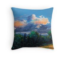 Irish sky II Throw Pillow