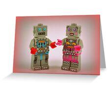 Robot Love Greeting Card