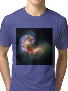 Antennae Galaxies Tri-blend T-Shirt