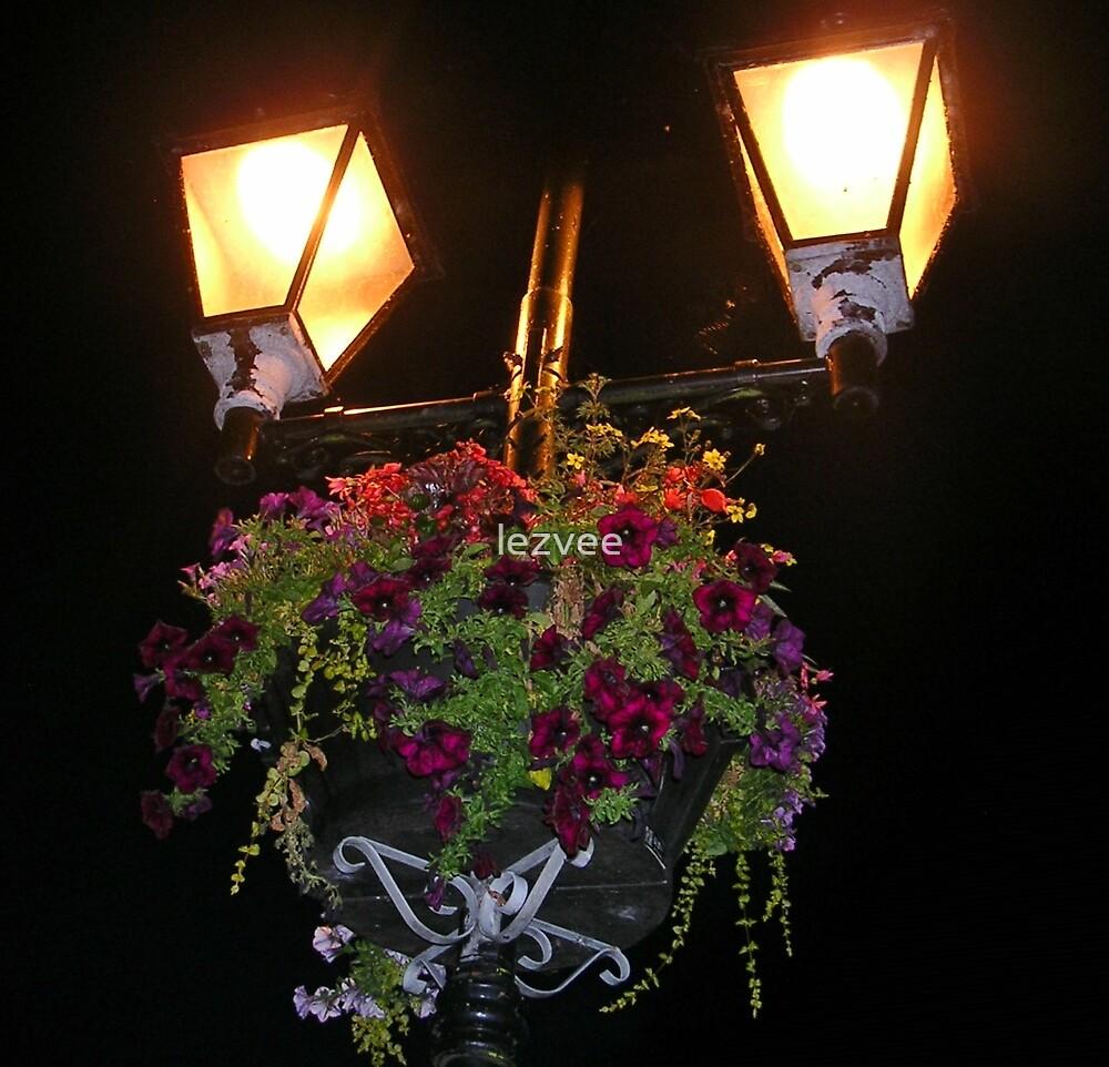 Street Lamps in Llangollen by lezvee