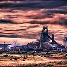 Sahaviriya Steel Industries (Redcar) by Darren Allen