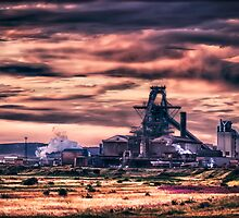 Sahaviriya Steel Industries (Redcar) by Darren Allen
