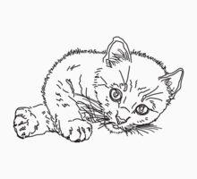 kitten Kids Tee