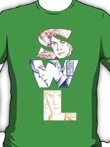 SuperWhoLock: Welcome Home T-Shirt