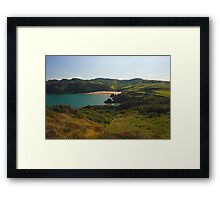 Fanad Head Beach Framed Print