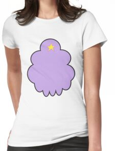 Minimalist Lumpy Space Princess Womens Fitted T-Shirt