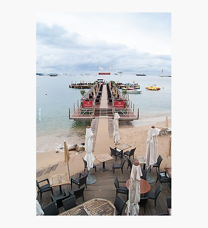 Plage Royale Photographic Print