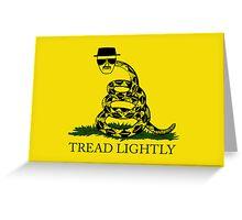 Tread Lightly Greeting Card