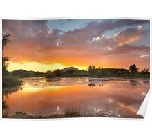 Sunset Surround 2 Poster