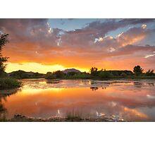 Sunset Surround 2 Photographic Print