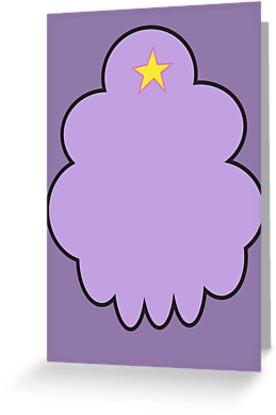 Minimalist Lumpy Space Princess by Chris Lenzi