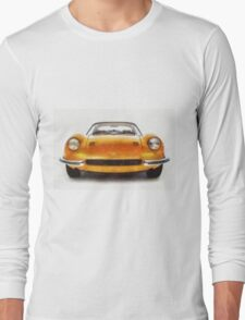 Ferrari Dino 246 Pastels Long Sleeve T-Shirt