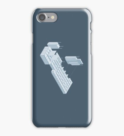 Isometric Council Chambers iPhone Case/Skin