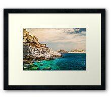 Castle Docks Framed Print