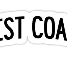 Miley Cyrus West Coast Sticker
