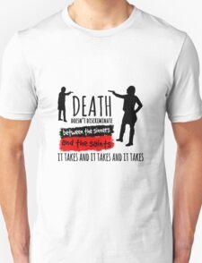 Burr / Hamilton Duel - Hamilton Musical (black version) T-Shirt
