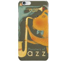 Monsters of Jazz iPhone Case/Skin